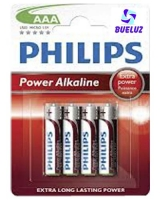 Pilas y Cargadores » Pilas Alkalinas y Salinas » Pilas Philips » Philips Alcalina