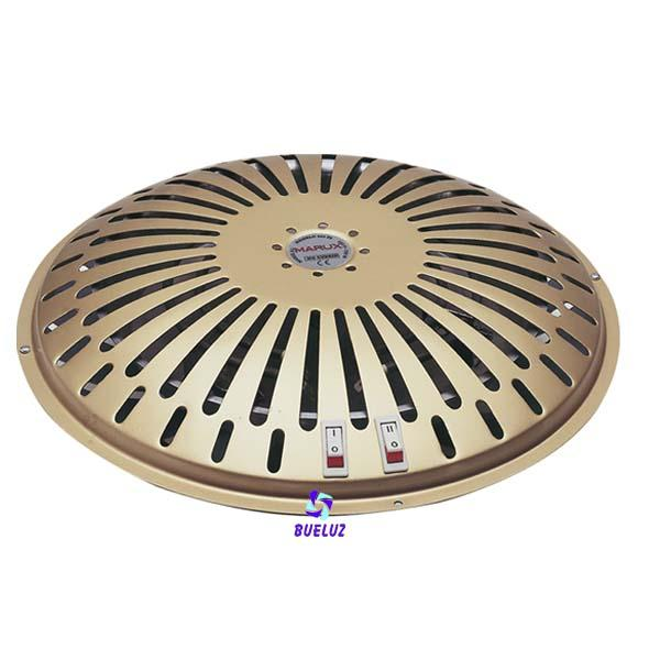 Brasero electrico 3 potencias 385-515-900W -