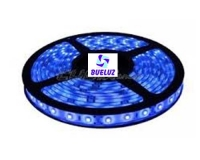 Tira LED 7,2W/Metro AZUL IP-65 -