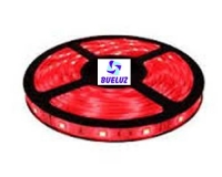 Tira LED 7,2W/Metro ROJO IP-65 -