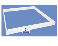 Set blanco montaje en superficie pantalla LED 60 x 60  -
