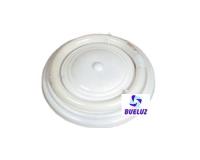 Plafón Circular Blanco 22W con tubo -