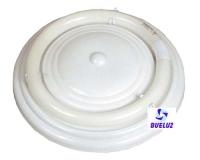Plafón Circular Blanco 32W con tubo -