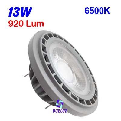 QR-111 LED 13W G-53 6500ºK 48º -