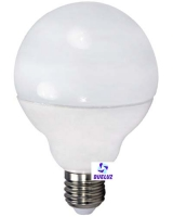 Globo LED 95mm E-27 12W 3000ºK -