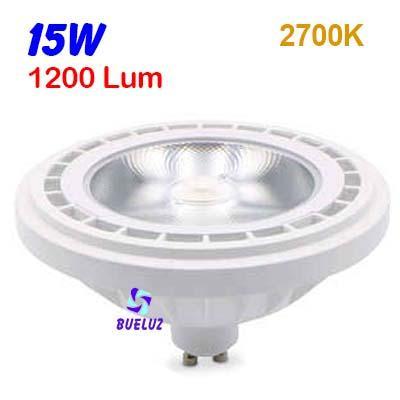 ES-111 LED 13W Gu-10 3000ºK 38º -