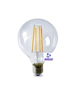 Globo LED decorativo 80mm E-27 4W 1800K -