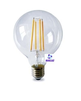 Globo LED decorativo 95mm E-27 4W 1800K -