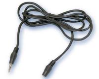 Conexión audio - estéreo 3,5mm macho a hembra 3 mts -
