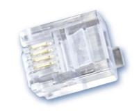 Conector Telefono 6P 4C RJ-11 -