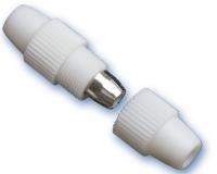 Conector Empalme Coaxial -
