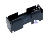 Portapilas 2 pilas R6 (AA) con cable -