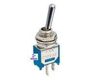 Interruptor unipolar mini 3 Amp. 250V.