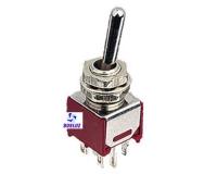 Interruptor unipolar mini 3 posiciones 3 Amp. 250V. -