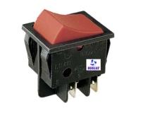 Interruptor basculante luminoso 6 Amp. 250V