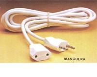 Alargadera manguera 2 x 1mm (2-metros)(EXPORTACION) -