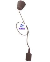 Pendell silicona E-27 Marrón