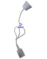 Pendell silicona E-27 Gris -