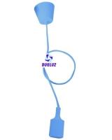 Pendell silicona E-27 Violeta -