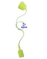 Pendell silicona E-27 Verde -