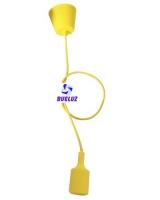 Pendell silicona E-27 Amarillo -
