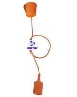 Pendell silicona E-27 Naranja -