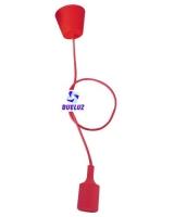 Pendell silicona E-27 Rojo -
