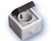 Base T/T-L Estanco con tapa IP44 (ECO)