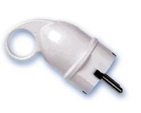 Clavija Toma tierra lateral con agarre ergonomico