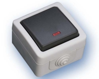 Interruptor Estanco con piloto IP44 (ECO) -