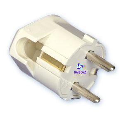 Clavija T/T-L 4,8mm salida lateral -