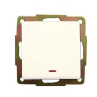 Interruptor con piloto empotrar blanco (GSC) -