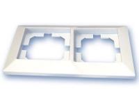 Placa 2 Elementos blanco GSC  -
