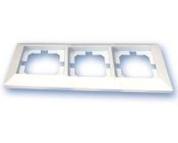 Placa 3 Elementos blanco GSC  -