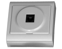 Base superficie Telefono 80 x 80 blanco -
