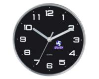 Reloj Cocina Fondo Negro -