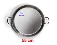 Paellera Acero Pulido 55cm -