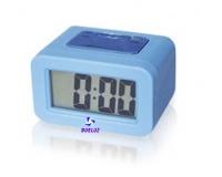 Reloj Despertador Silicona Azul -