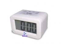 Reloj Despertador Silicona Blanco -