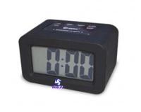 Reloj Despertador Silicona Negro -