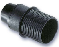 Portalamparas Termoplastico E-14 con tope negro -