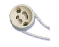 Portalamparas Halogeno GU-10 con cable