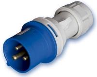 Clavija Industrial 2P+Tierra 16 Amp. -