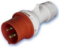 Clavija Industrial 3P+Tierra 16 Amp. -