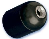 Portalamparas Termoplastico Liso E-27 Negro