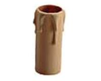 Funda vela 70 mm gota Crema E-14 -