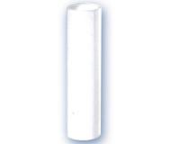 Funda vela 100 mm lisa blanca E-14 -