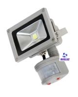 Proyector LED con sensor 30W alto brillo 3000K -