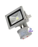 Proyector LED con sensor 10W alto brillo 3000K -