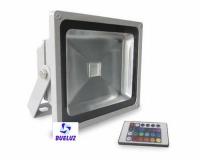 Proyector LED 10W RGB con mando -